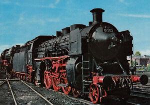 AK-inopportun-Schnellzug-Lokomotive-18-505-de-DB-g3457