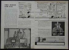 Turning Corn into Ethyl Alcohol 1947 still pictorial