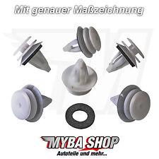 20x Innenverkleidungs Befestigung Clips mit Dichtung für BMW MINI 51418224768