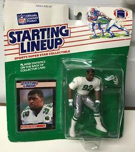 1989 STARTING LINEUP-NFL-REGGIE WHITE-PHILADELPHIA EAGLES-(GREEN) NEW SEALED