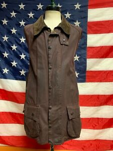 barbour-Beaufort-jacket-waxed-cotton-giacca-Marrone-100-authentic-c48-122-XL