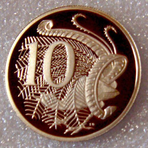 1992 10 CENTS PROOF AUSTRALIA