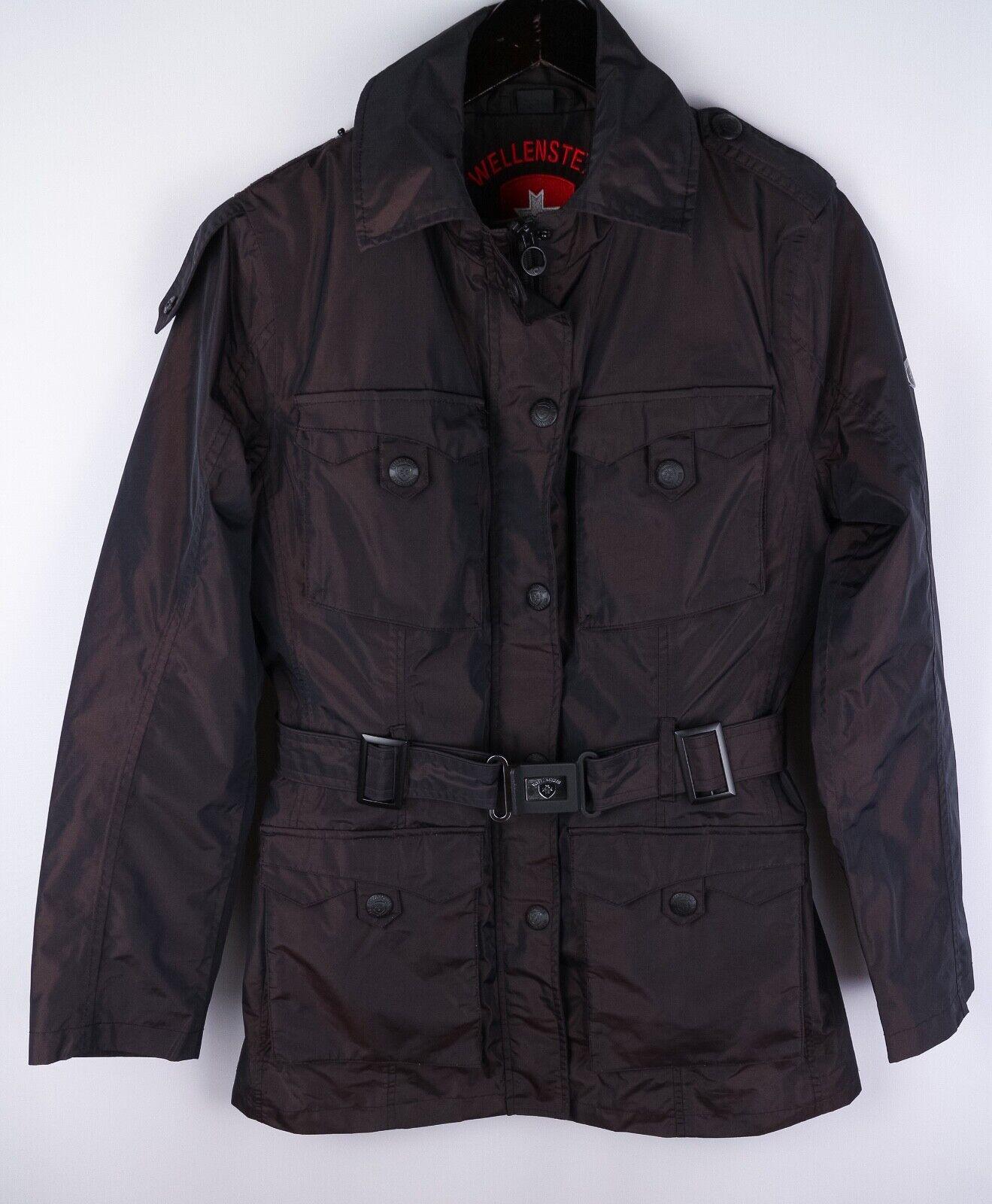 Wellensteyn Synphonia Women Parka Jacket Casual Windproof Brown size M UK12