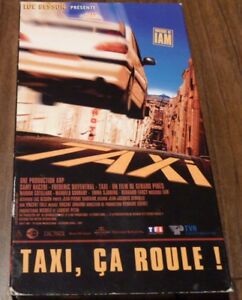 VHS-French-Movie-Taxi-Ca-Roule-Luc-Besson-Musique-I-Am