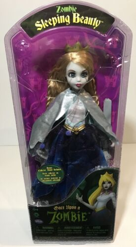 Zombie SLEEPING BEAUTY Doll Once Upon A Zombie WowWee PRINCESS 2012 Rare NEW