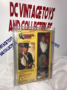 1982 Indiana Jones Rotla Vintage Kenner poupée 12 pouces Afa 75/80/85-scellé -