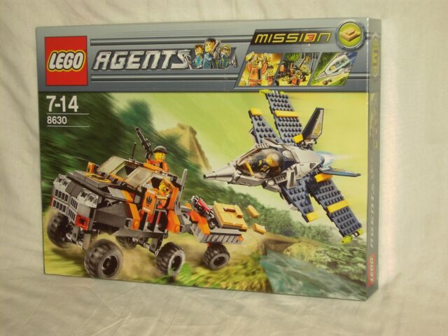 Gold Hunt INSTRUCTION BOOK ONLY No Lego bricks Lego Agents 8630 Mission 3