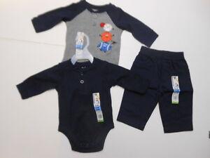 Sports Baby boys outfits Baseball Football creepers Pants Basketball 3 Pc 0/3 mo
