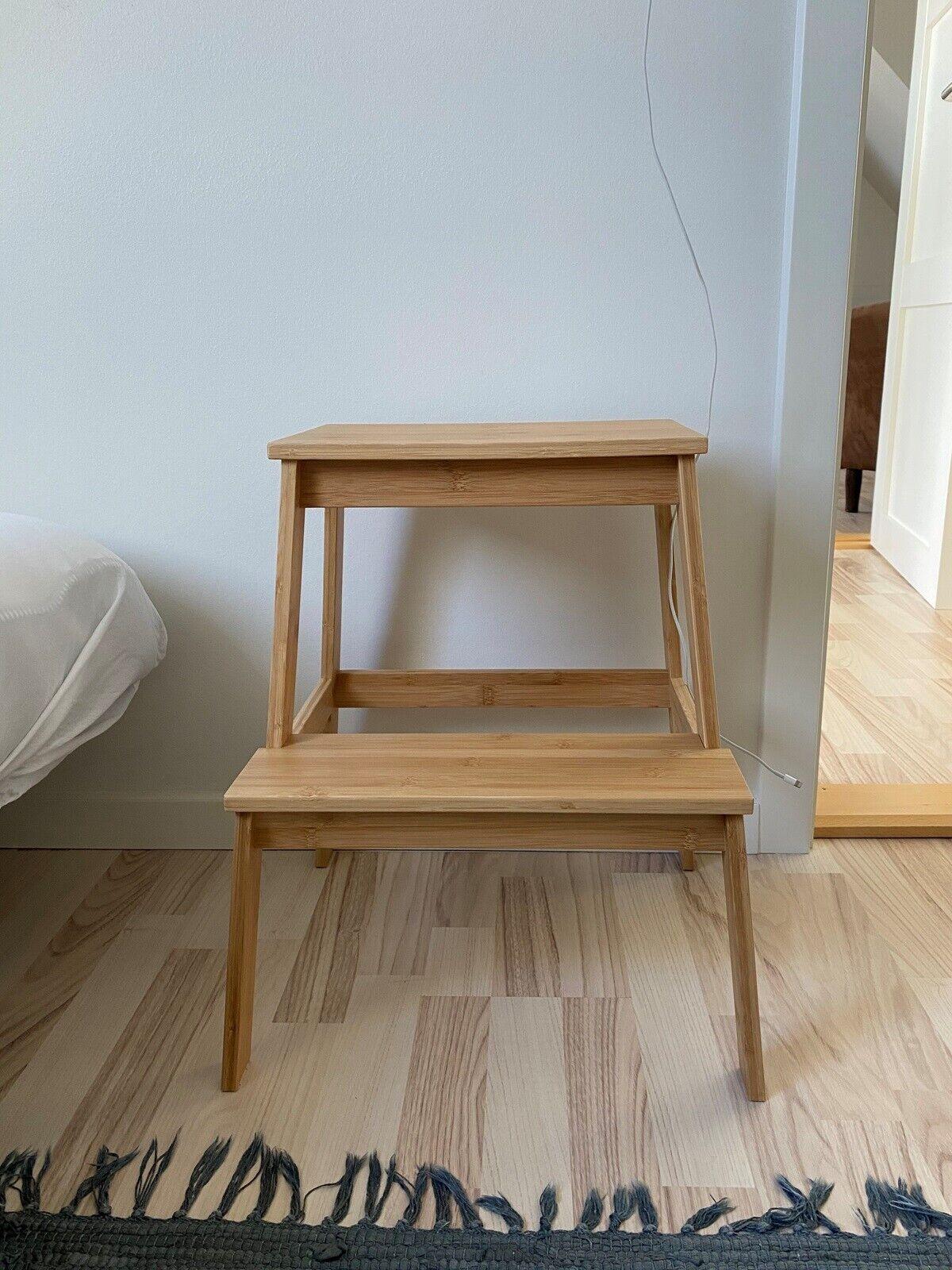 Picture of: Tenhult Taburet Bambus Ikea
