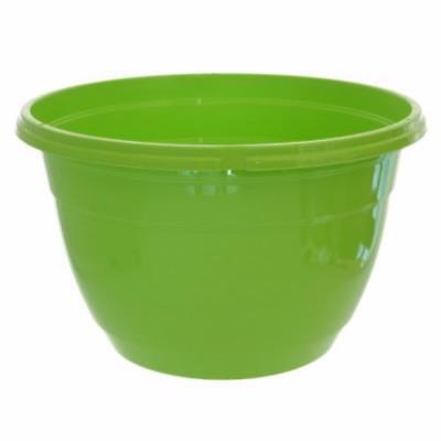 "Hanging Basket, LIGHT GREEN, (Qty. 3), NEW TEKU Colored 10"" Hanging Basket"