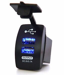 3-1A-Motorcycle-Car-Waterproof-12-24V-Dual-USB-Power-Supply-Charger-Port-Socket