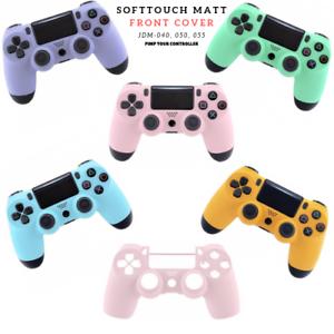 Playstation-PS4-Controller-Case-Gehaeuse-Oberschale-Softtouch-Matt-Modding-Cover