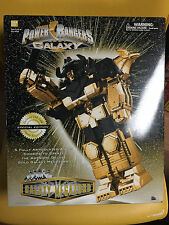 Power Rangers Lost Galaxy 14K Gold Plated Deluxe Gold Galaxy Megazord NEW