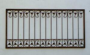 Metall Schmiedeeisen Gartenzaun Balkon Zaunelement Monaco Z140 300