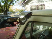 Polished Stainless Steel Mirror Visor Peep Mirrors Cars And Trucks