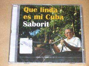 CD-SABORIT-QUE-LINDA-ES-MI-CUBA-NEUF-SOUS-CELLO