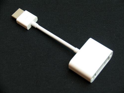 MacBook Pro Retina Mid 2012 OEM Apple HDMI Adapter to DVI adapter New 92-9555