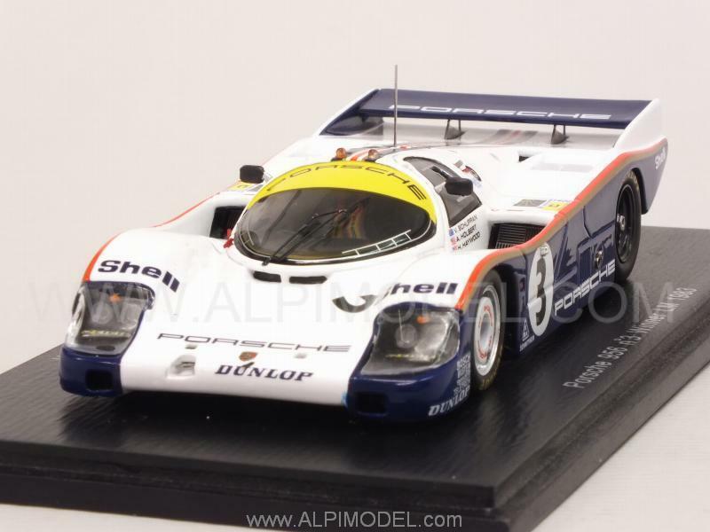 Porsche 956 Winner Le Mans 1983 Holbert - Haywood - Schuppa 1 43 SPARK 43LM83