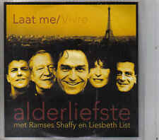 Alderliefstemet Ramses Shaffy en Liesbeth List-Laat Me Promo cd single