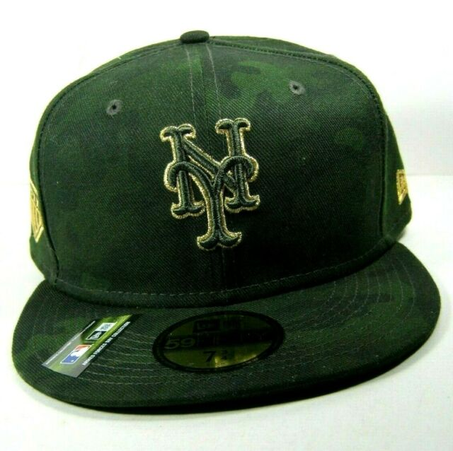 NEW ERA 5950 Armed Forces New York Mets Baseball Hat Cap MLB Fitted Size 7 3/4