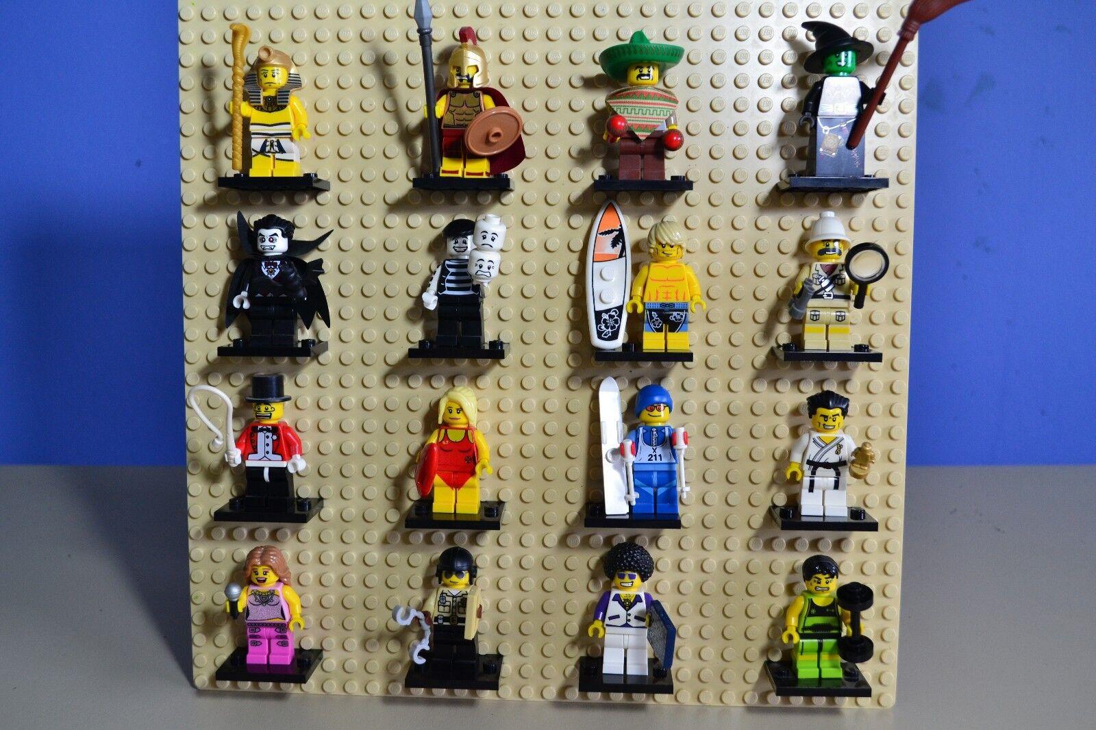 Lego série 2 Jeu complet  de 16 figurine S (8684)  en ligne au meilleur prix