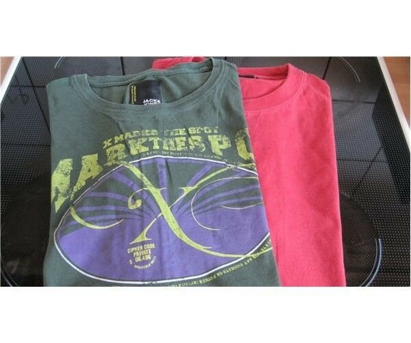 T-shirt, Jack and Jones og Maldini, str. M