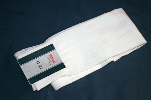 Calme CHAUSSETTES MONTANTES COTON 39-42//43-46//47-50 Blanc Crème Knee Socks