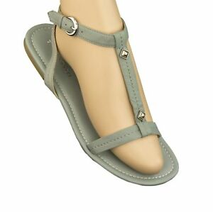 TIGNANELLO-Mel-Jean-T-Strap-Studded-Leather-Sandals-Shoes-A214773-NEW-59