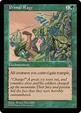 PRIMAL RAGE Stronghold MTG Green Enchantment Unc