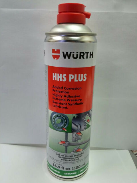 Wurth HHS-K / HHS-Plus High Pressure Lubricant Aerospray Can  500ml / 16.9 fl oz