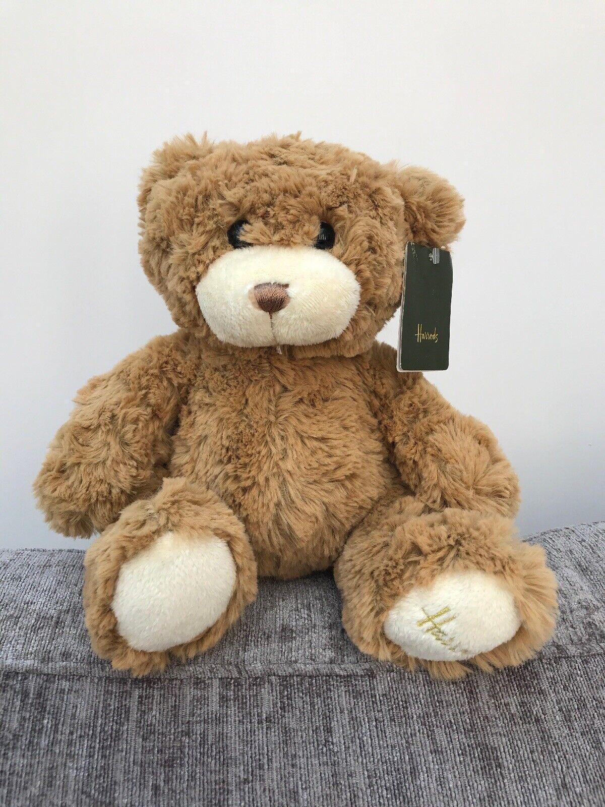 Harrods braun Teddy Bear Soft Toy And Tag Kingsley plush plush plush 10  5cac59