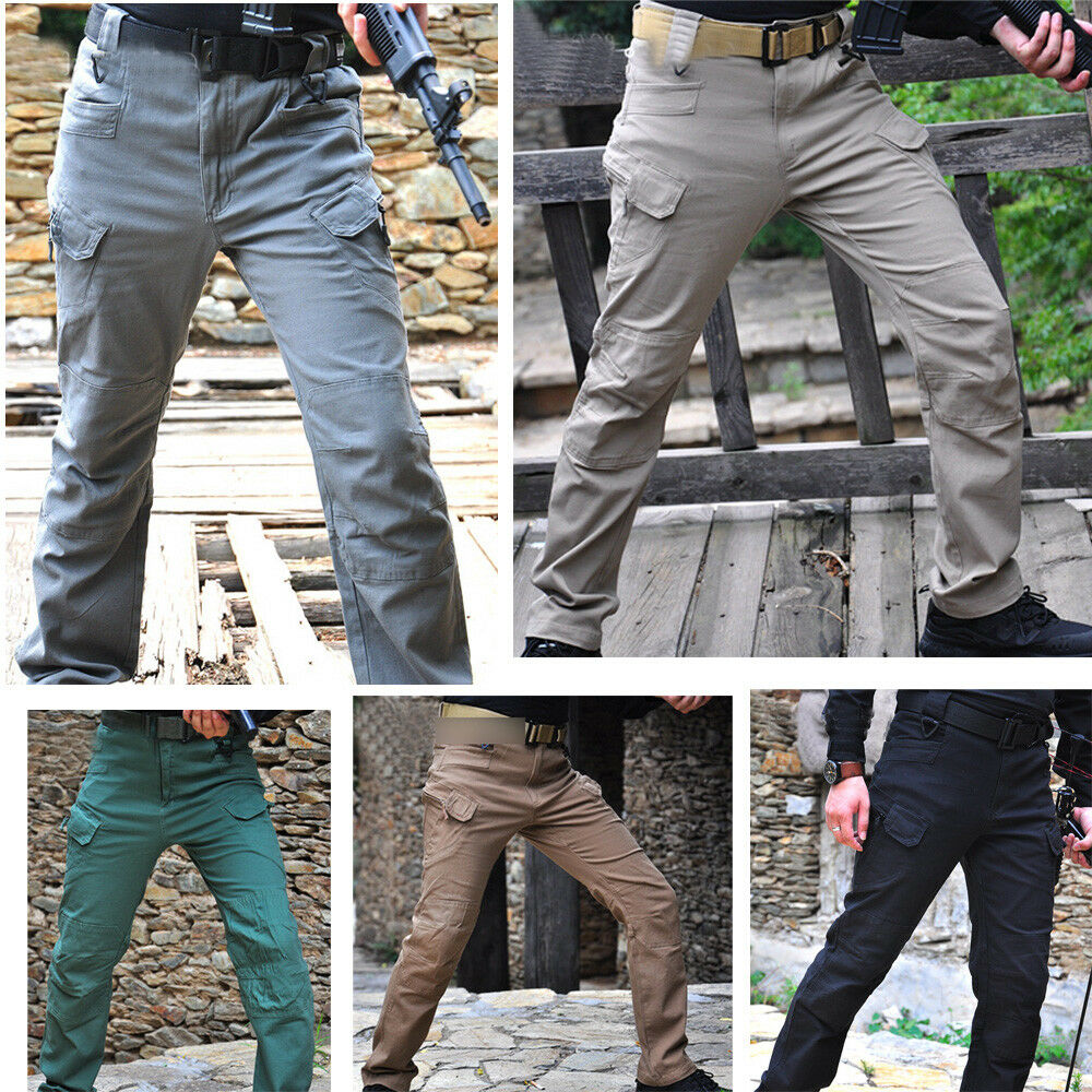 Men's Outdoor Combat Trousers Military City Combat Tactical Hiking Camping Pants