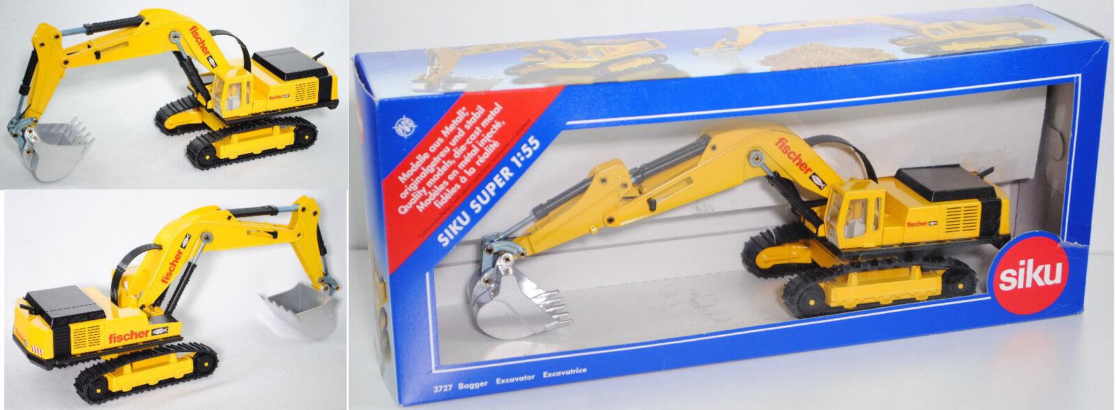 Siku Siku Siku Super 3727 LIEBHERR Raupenbagger Litronic® HD, fischer, Sondermodell c88053