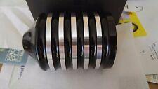 ULTIMA BLACK REUSABLE BILLET LIFETIME OIL FILTER 4 HARLEY, EVO,TWIN CAM, XL