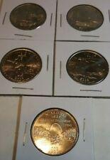 5 Coin Set Uncirculated 2003 D BU Statehood Quarters