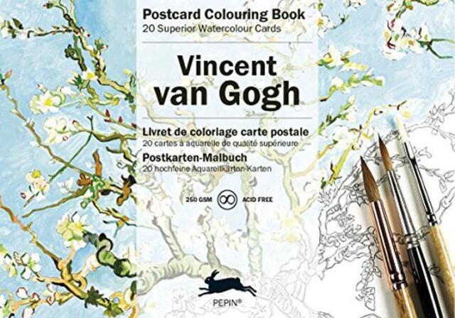Van Gogh Postacrd Malbuch Mit 20 Postkarten (Postkarte Malbücher) Von