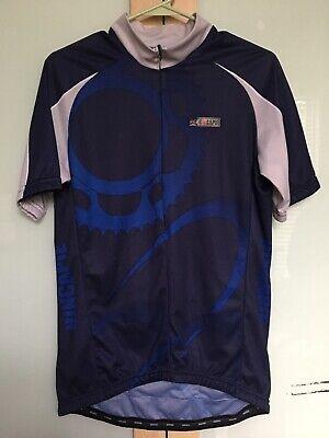 Men's Clothing Ambitious Size Large ~ Hincapie Sportswear Men's Cycling Short Sleeve Jersey Blue