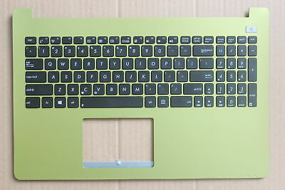 New ASUS X502C X502CC X502CA X502 X502U US English Keyboard  with Green C shell