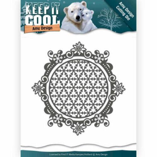 Keep It Round-Keep It Cool-stanzschablone de Amy Design add10163