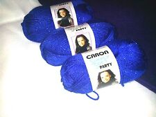 NEW Caron Simply Soft PARTY Yarn 3 oz Skeins Same Dye Lot SNOW SPARKLE 4