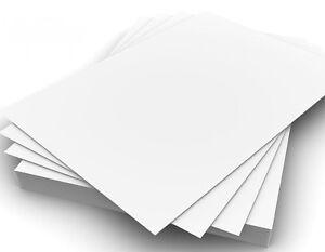15 Feuilles De Premium 250g A4 Blanc Artisanat Carte Papier - Mariage