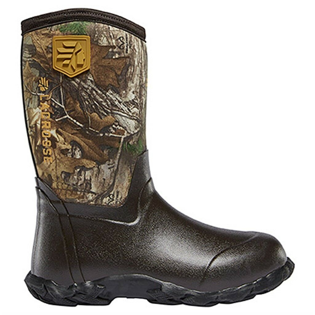 NWT Lacrosse Lil Alpha Lite Realtree Xtra 1000G Youth Boots 610247
