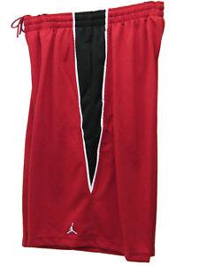 New-NIKE-JORDAN-BASKETBALL-SHORTS-Red-XXLT