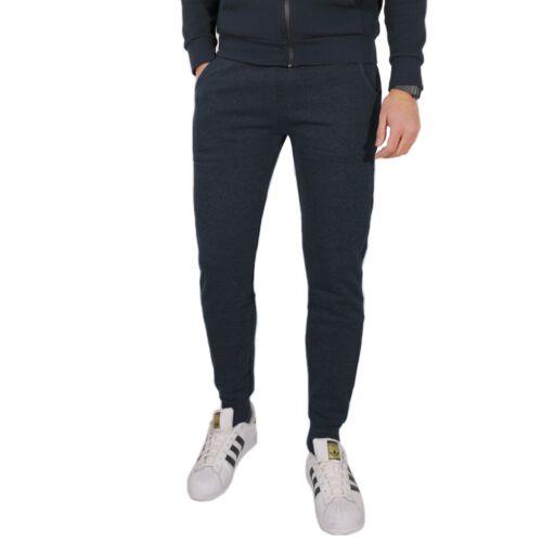 Uomo Grigio Slim S Blu L Xl Xxl Pantaloni Jogger Tuta Fit Invernali M Nero 56SS8xw
