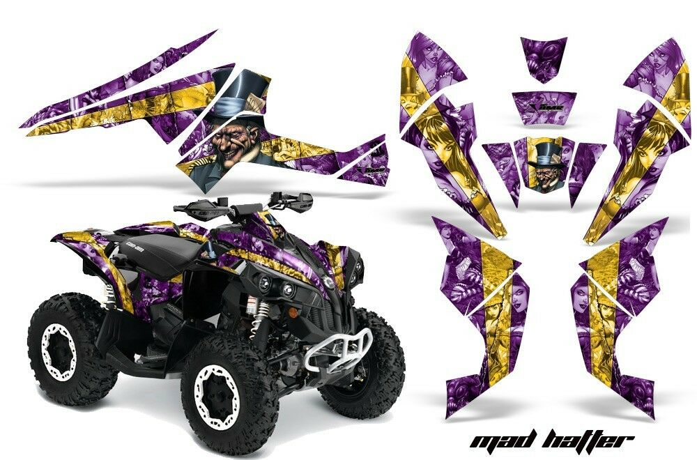 Atv Aufkleber Grafik Kit Quad Quad Quad Wickel für Can-Am 9fcd04