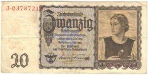 QUEEN-OF-NAZI-BILLS-1939-20-MARKS-w-ARYAN-GIRL-FLOWER-SYMBOLIZING-GERMAN-PURITY