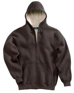 Tri-Mountain-Men-039-s-Full-Zip-Fleece-Lining-Thermal-Hooded-Winter-Sweatshirt-697