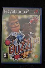 PS2 : BUZZ! THE SPORTS QUIZ - Nuovo, risigillato, ITA ! 6 nuovi round sportivi !