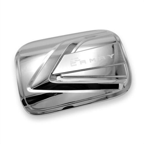Fuel Tank Cap Cover Trim Chrome For Toyota Camry 2019-2020