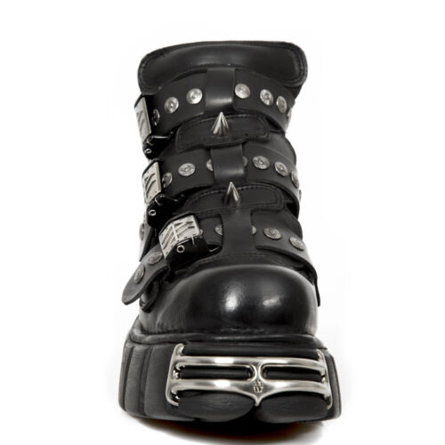 Boots Metallic New Rock NR M.135 S1 Black Unisex